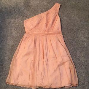 J Crew one shoulder dress